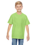 498Y Hanes Youth 4.5 oz., 100% Ringspun Cotton nano-T® T-Shirt