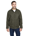 5032DD Dri Duck Men's Force Canvas Bomber Jacket