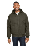 5034 Dri Duck Men's Laramie Canvas Hooded Jacket