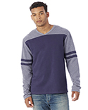 5077BT Alternative Men's French Terry Trainer L/S Pullover