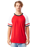 5093BP Alternative Men's Slapshot Vintage Jersey T-Shirt