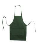 5502 Liberty Bags Caroline AL2B Butcher Style Cotton Twill Apron Forest