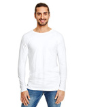 5628 Anvil Adult Lightweight Long & Lean Raglan Long Sleeve T-Shirt