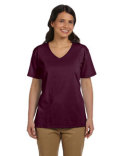 5780 Hanes Ladies' 6.1 oz. Tagless® V-Neck T-Shirt