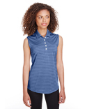 597222 Puma Golf Ladies' Rotation Stripe Sleeveless Polo