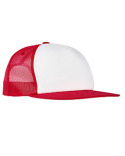 6005FW Yupoong Foam Trucker with White Front Snapback