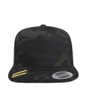 6006MC Yupoong Classics™ Adult 5-Panel Multicam® Trucker Cap
