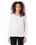 61061J Alternative Ladies' Wash Slub Slouchy Pullover