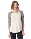 61352 Alternative Ladies' Eco-Jersey™ Raglan Baseball T-Shirt