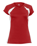 6161 Badger Ladies Polyester Color Block