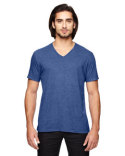 6752 Anvil Adult Triblend V-Neck T-Shirt