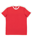 6932 LAT Men's Retro Ringer T-Shirt