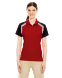 75065 Ash City - Extreme Ladies' Edry® Colorblock Polo