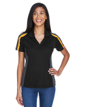 75119 Extreme Ladies' Eperformance™ Strike Colorblock Snag Protection Polo