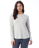 7606B Alternative Ladies' Dropped Shoulder Vintage Heavy Knit Pullover