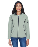 78034 North End Ladies' Three-Layer Fleece Bonded Performance Soft Shell Jacket