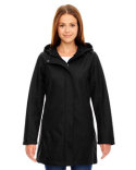 78171 North End Ladies' City Textured Three-Layer Fleece Bonded Soft Shell Jacket