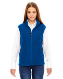 78173 North End Ladies' Voyage Fleece Vest