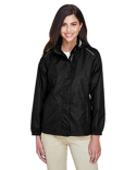 78185 Ash City - Core 365 Ladies' Climate Seam-Sealed Lightweight Variegated Ripstop Jacket