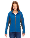 78198 North End Ladies' Generate Textured Fleece Jacket