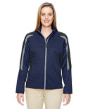 78201 Ash City - North End Ladies' Strike Colorblock Fleece Jacket