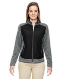 78202 North End Ladies' Victory Hybrid Performance Fleece Jacket
