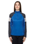 78214 Ash City - North End Ladies' Quick Performance Interlock Quarter-Zip