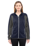 78230 Ash City - North End Ladies' Motion Interactive Colorblock Performance Fleece Jacket