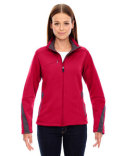 78649 Ash City - North End Ladies' Escape Bonded Fleece Jacket