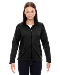 78655 Ash City - North End Ladies' Splice Three-Layer Light Bonded Soft Shell Jacket with Laser Welding