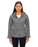78672 Ash City - North End Ladies' Uptown Three-Layer Light Bonded City Textured Soft Shell Jacket
