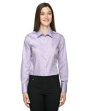 78673 Ash City - North End Ladies' Boulevard Wrinkle-Free Two-Ply 80's Cotton Dobby Taped Shirt with Oxford Twill