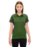 78677 Ash City - North End Ladies' Refresh UTK cool?logik™ Coffee Performance Mélange Jersey Polo
