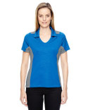 78691 Ash City - North End Ladies' Reflex UTK cool?logik™ Performance Embossed Print Polo