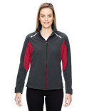 78693 Ash City - North End Ladies' Excursion Soft Shell Jacket with Laser Stitch Accents