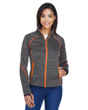 78697 Ash City - North End Ladies' Flux Mélange Bonded Fleece Jacket