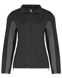 7903 Badger Ladies' Brushed Tricot Drive Jacket