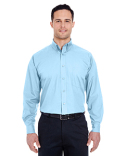 8355 UltraClub Men's Easy-Care Broadcloth