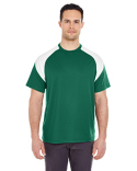 8399 UltraClub Adult Cool & Dry Sport Colorblock T-Shirt