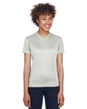8400L UltraClub Ladies' Cool & Dry Sport V-Neck T-Shirt