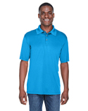 8425 UltraClub Men's Cool & Dry Sport Performance Interlock Polo