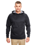 8441 UltraClub Adult Cool & Dry Sport Hooded Fleece