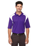 85105 Ash City - Extreme Men's Eperformance™ Colorblock Textured Polo