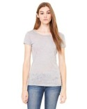 8601 Bella + Canvas Ladies' Burnout Short-Sleeve T-Shirt