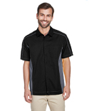 87042 North End Men's Fuse Colorblock Twill Shirt