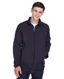 88099 North End Men's Three-Layer Fleece Bonded Performance Soft Shell Jacket