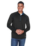 88187 North End Men's Radar Quarter-Zip Performance Long-Sleeve Top