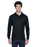 88192 Core 365 Men's Pinnacle Performance Long-Sleeve Piqué Polo