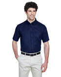 88194T Ash City - Core 365 Men's Tall Optimum Short-Sleeve Twill Shirt