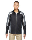 88201 Ash City - North End Men's Strike Colorblock Fleece Jacket